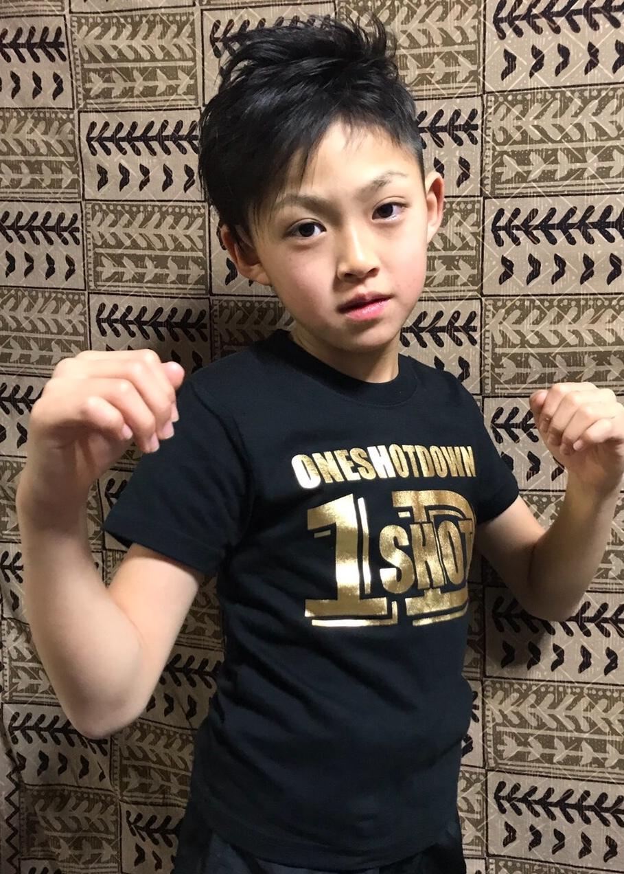 「子供服」kidsロゴTシャツ - 画像2