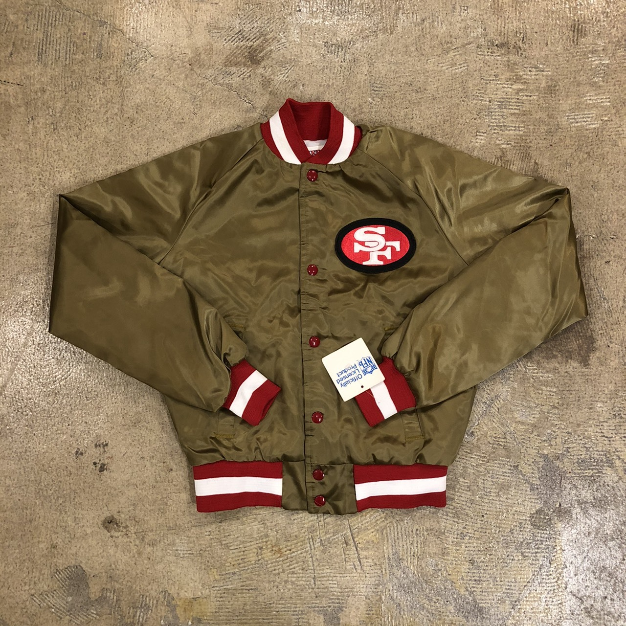 80's LOCKER LINE #49ers Stadium Jacket