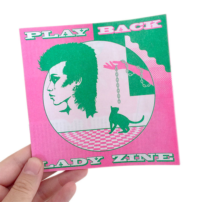 PLAYBACK LADY ZINE vol.3 Marking Issue (ZINE)