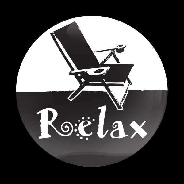 ゴーバッジ(ドーム)(CD1009 - RELAX) - 画像1