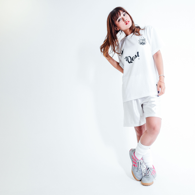 Qest Crown Practice Shirt / White - 画像2