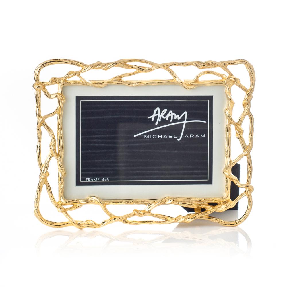 Michael Aram Wisteria Gold Frame(マイケルアラム ウィスティアリアゴールド フレーム)123307