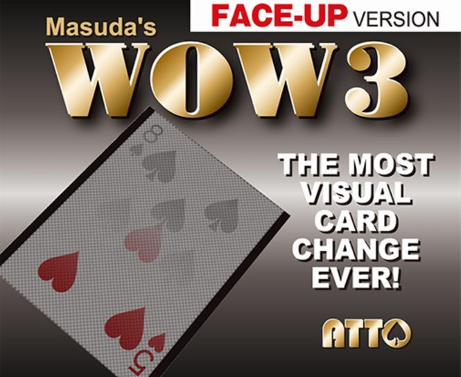 WOW3(フェイスアップ)すり替え用ノーギミックセット カードがじわーーーと変化!