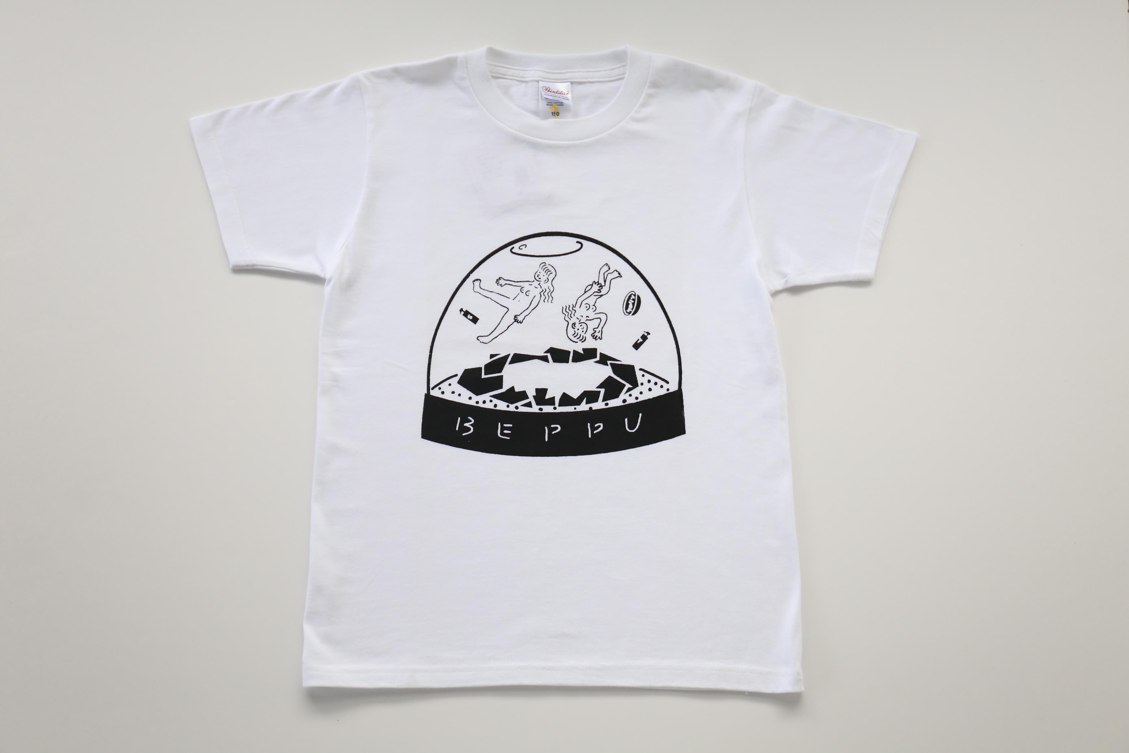 福嶋さくら 湯美ちゃんスノードームTシャツ