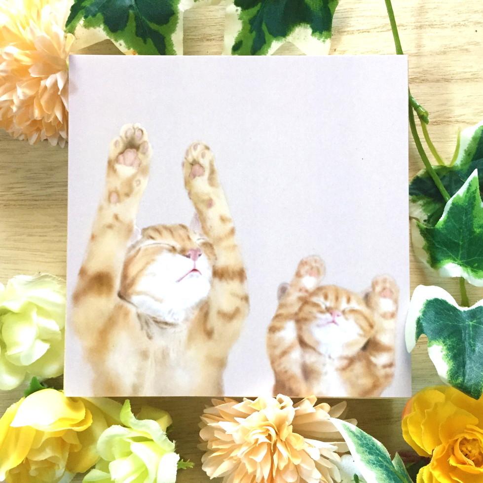 絵画 インテリア アートパネル 雑貨 壁掛け 置物 おしゃれ 猫 動物 デジタルアート ロココロ 画家 : rune 作品 : BANZAI