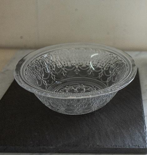 ガラスボール アラベスク柄 ( 直径16.5cm )