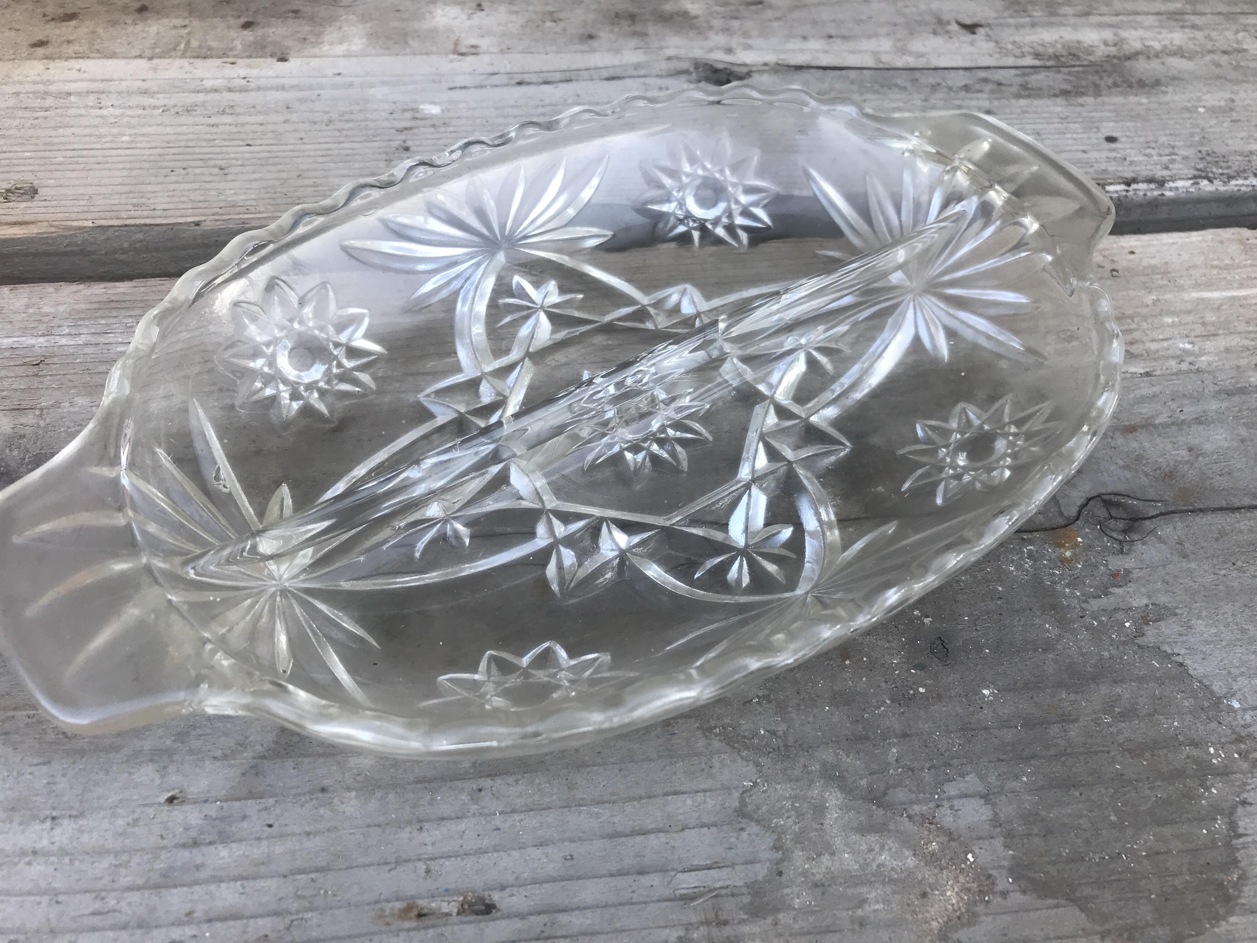 ★ used ガラスのお皿