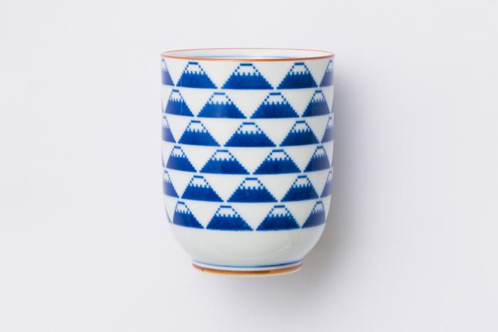 富士山 湯呑 / The Porcelains