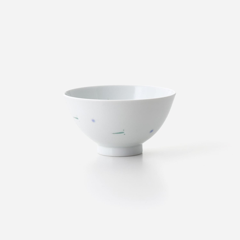 透かしメダカ 飯碗(小)