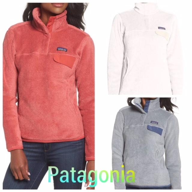 海外限定Patagoniaフリースプルオーバー☆★