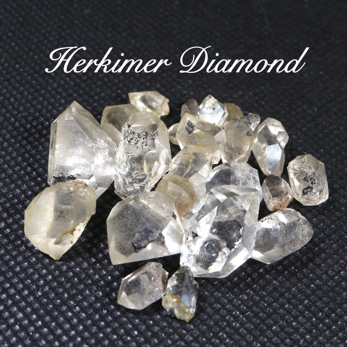 ハーキマーダイヤモンド 水晶 ニューヨーク州産 16,8g HKD001 原石 天然石 鉱物 パワーストーン