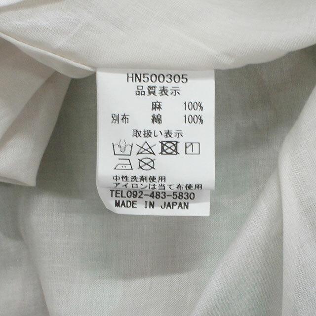 ICHIAntiquites イチアンティークス LINEN CHECK SKIRT リネンチェックスカート (品番500305)