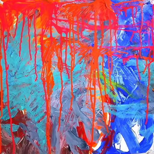 絵画 インテリア アートパネル 雑貨 壁掛け 置物 おしゃれ 抽象画 現代アート ロココロ 画家 : tamajapan 作品 : t-01
