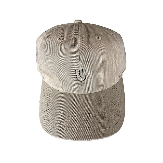 """Symbol -beige-"" Baseball Low Cap"