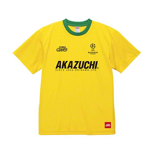 『AKAZUCHI × SINE METU』DRY TEEシャツ / イエロー