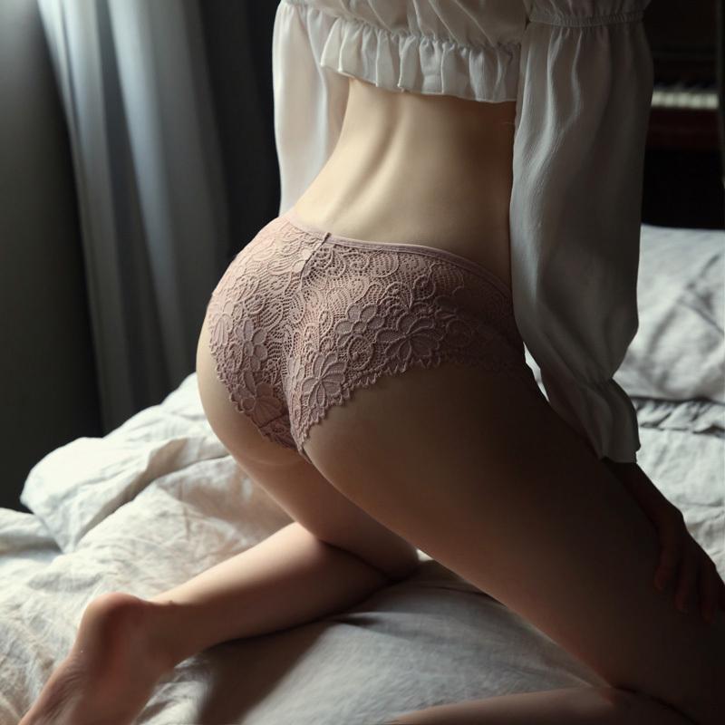 【ショーツ】女性誘惑レース透視感ありレースファッションショーツ25703206