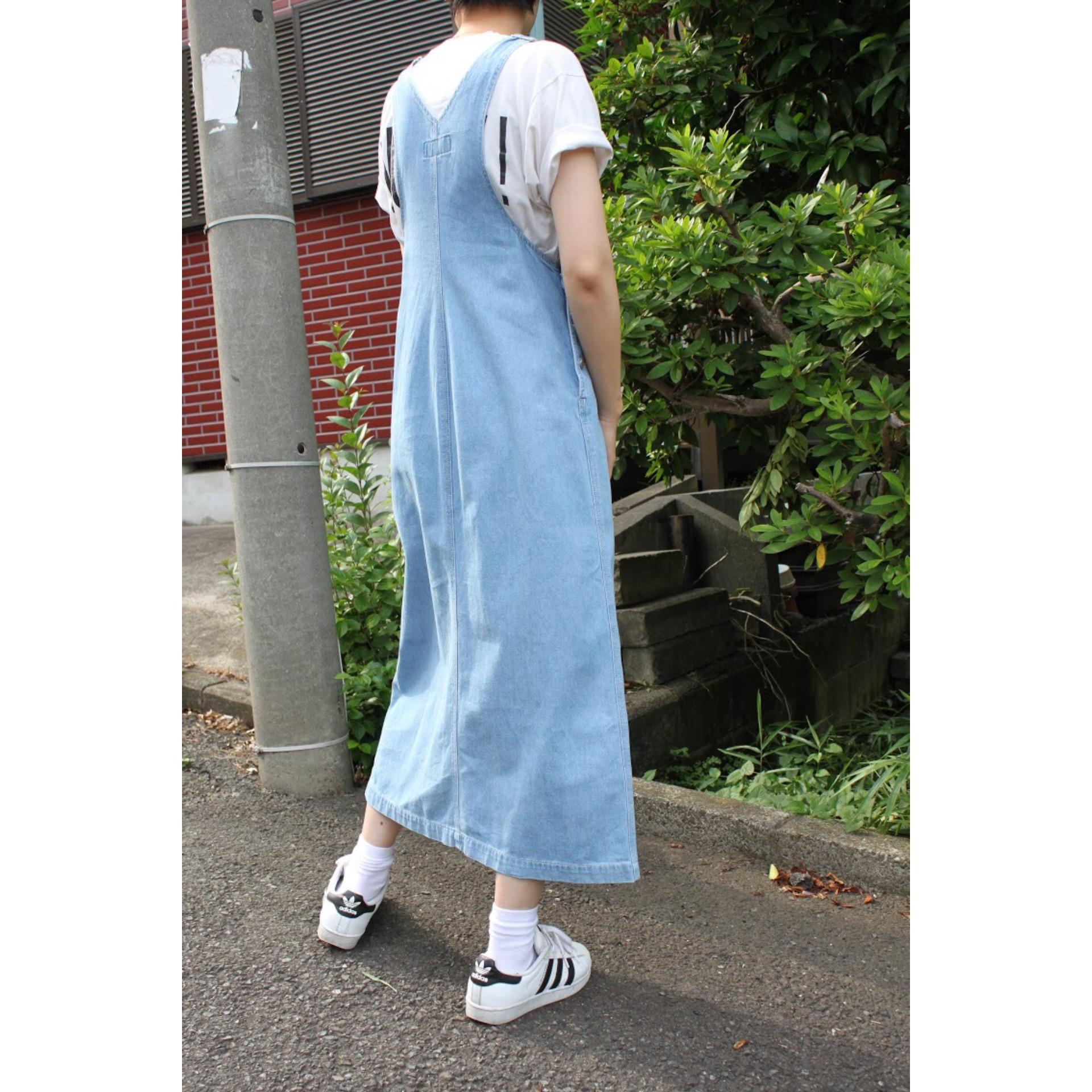 Vintage salopette skirt
