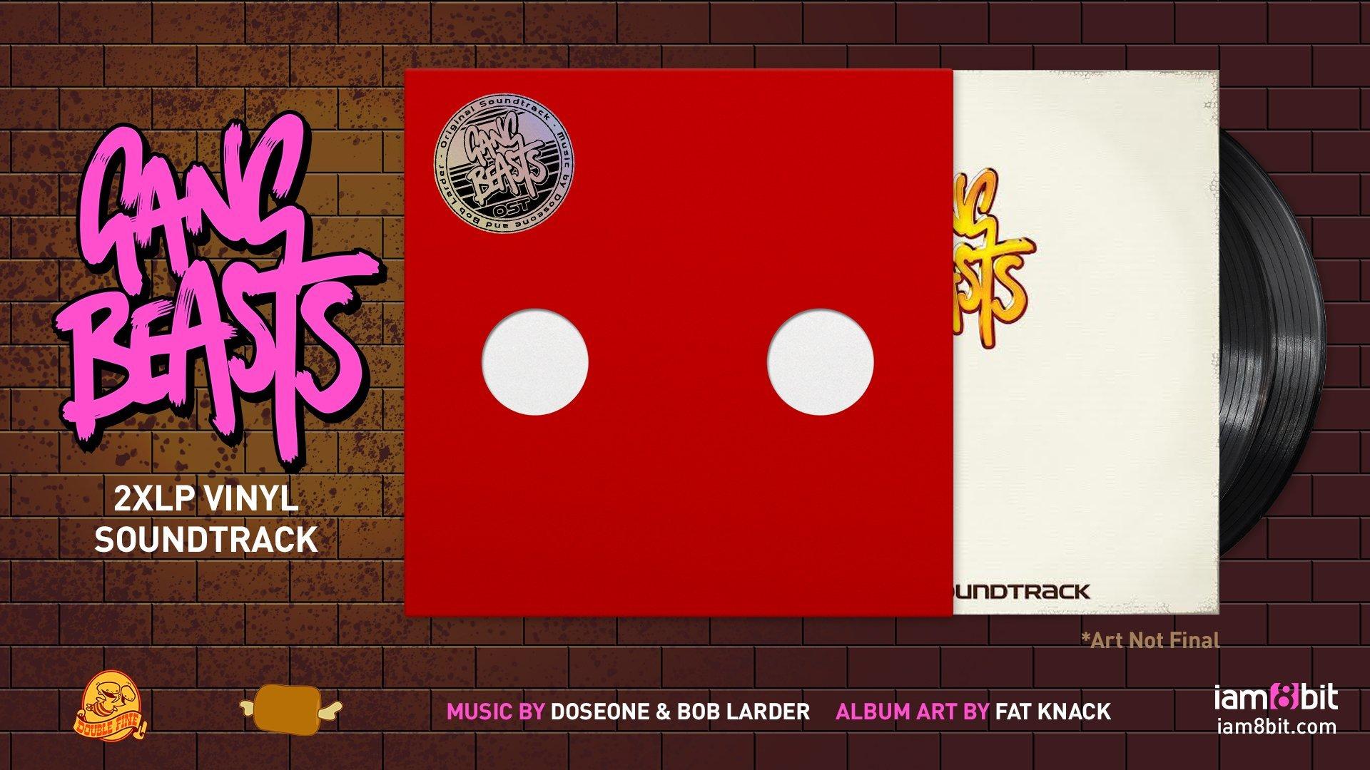 Gang Beasts/ギャングビースト サウンドトラック アナログ・レコードセット  - 画像4