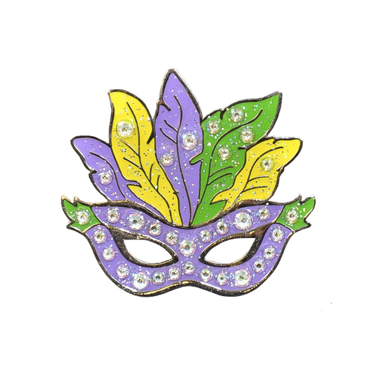 138. Mardi Gras Mask