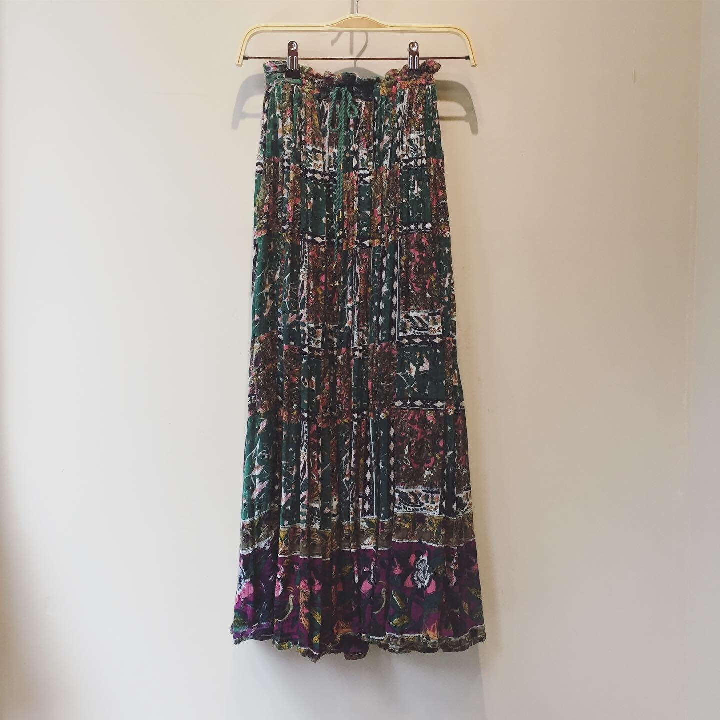 vintag indian cotton skirt
