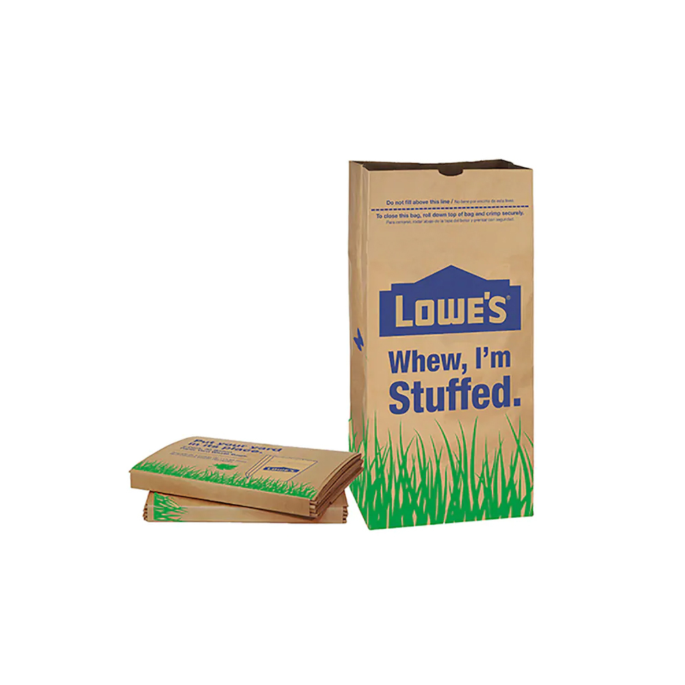 LOWE'S 30ガロン ペーパーバッグ 紙袋 ロウズ