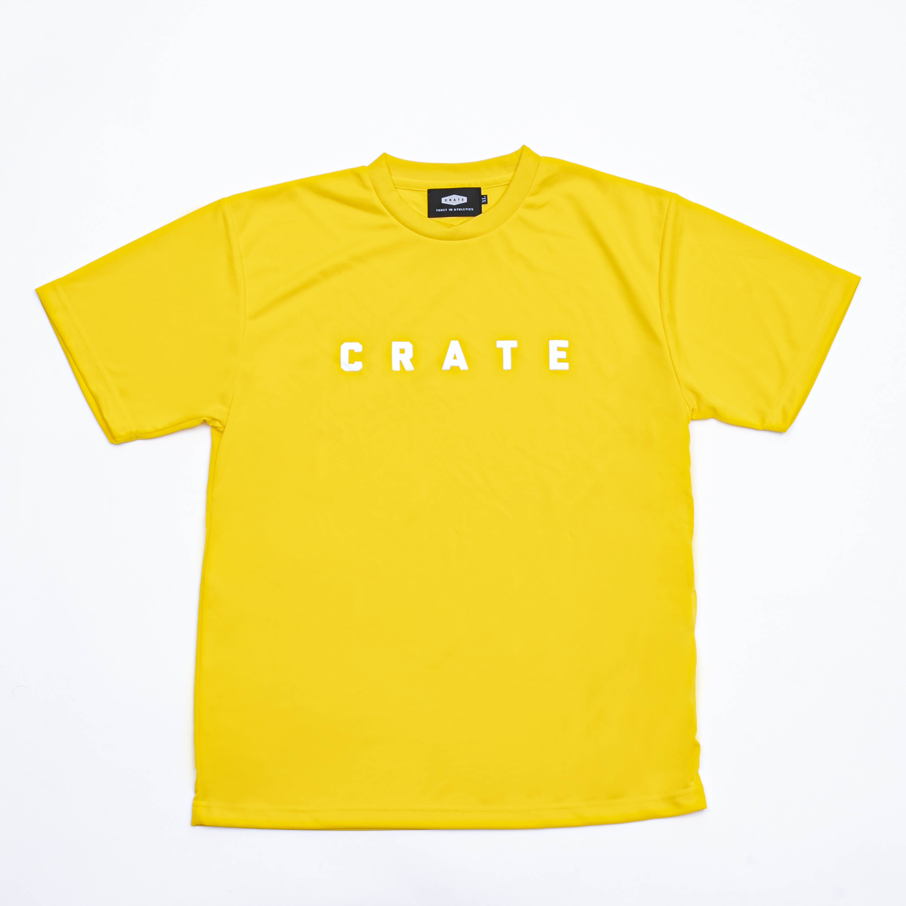 CRATE MESH Tee YELLOW