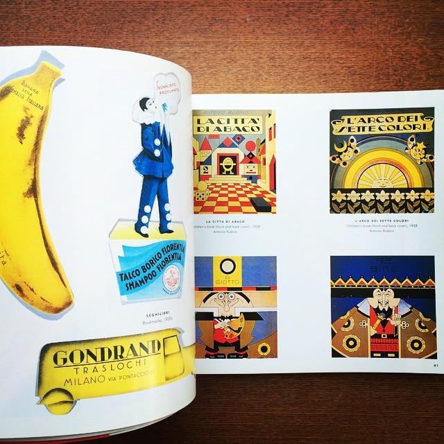 デザインの本「Italian Art Deco: Graphic Design between the Wars」 - 画像3