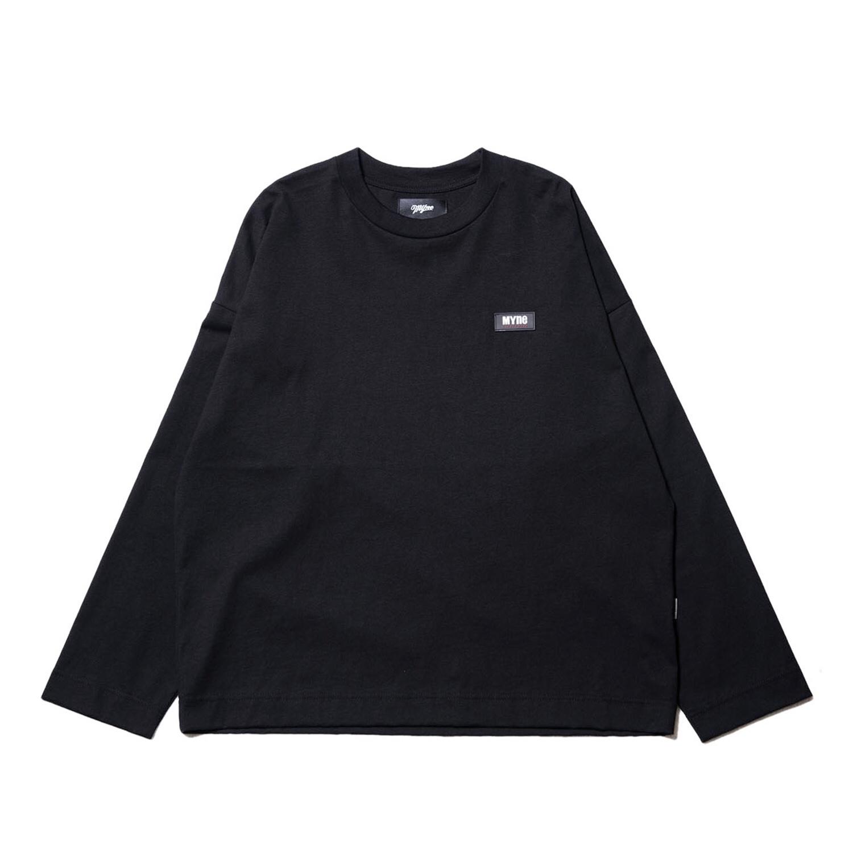 Neon MYne L/S T-shirt / BLACK - 画像1