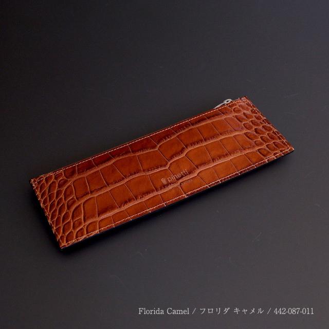 Pinetti Flat Pencil Case / Florida (ピネッティ フラットペンシルケース / フロリダ)442-087