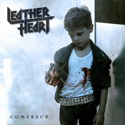 "LEATHER HEART ""Comeback"""