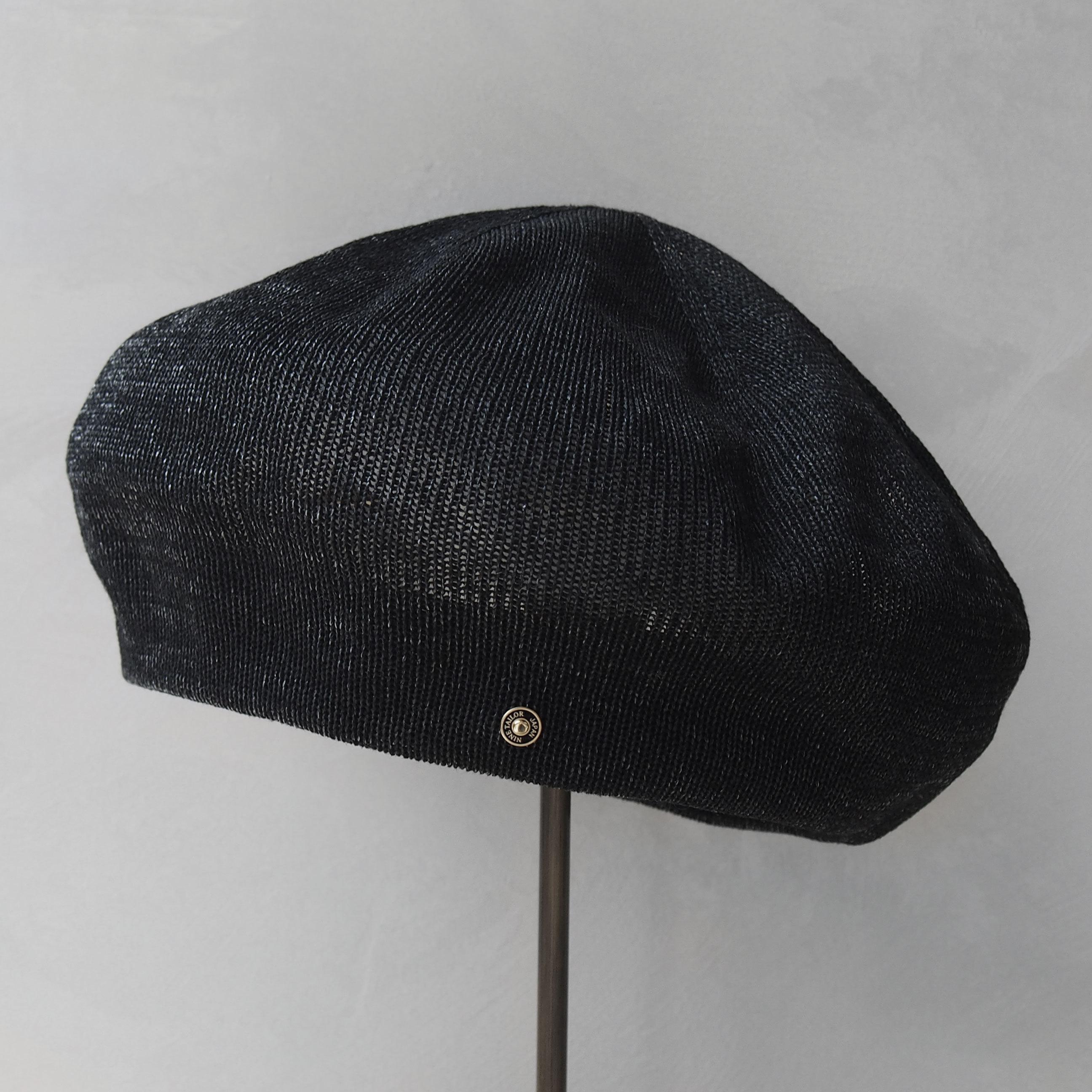 Nine Tailor Mic beret Black