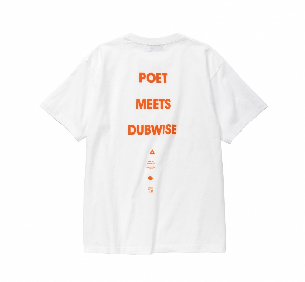 【40%OFF】POET MEETS DUBWISE / LOGO TEE