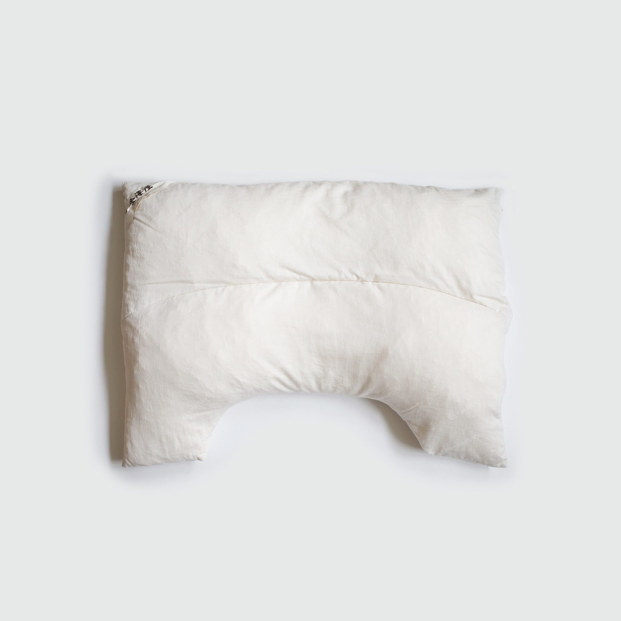 【金澤屋】 U字 枕(レギュラーサイズ)/本体 ウールわたorラテックスわた