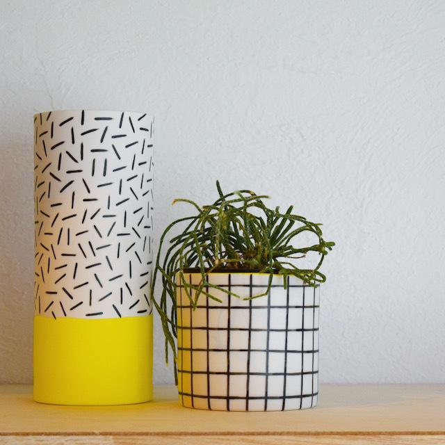 STEPH LIDDLE  Long Vase(Dash)  ステフリドル / フラワーベース