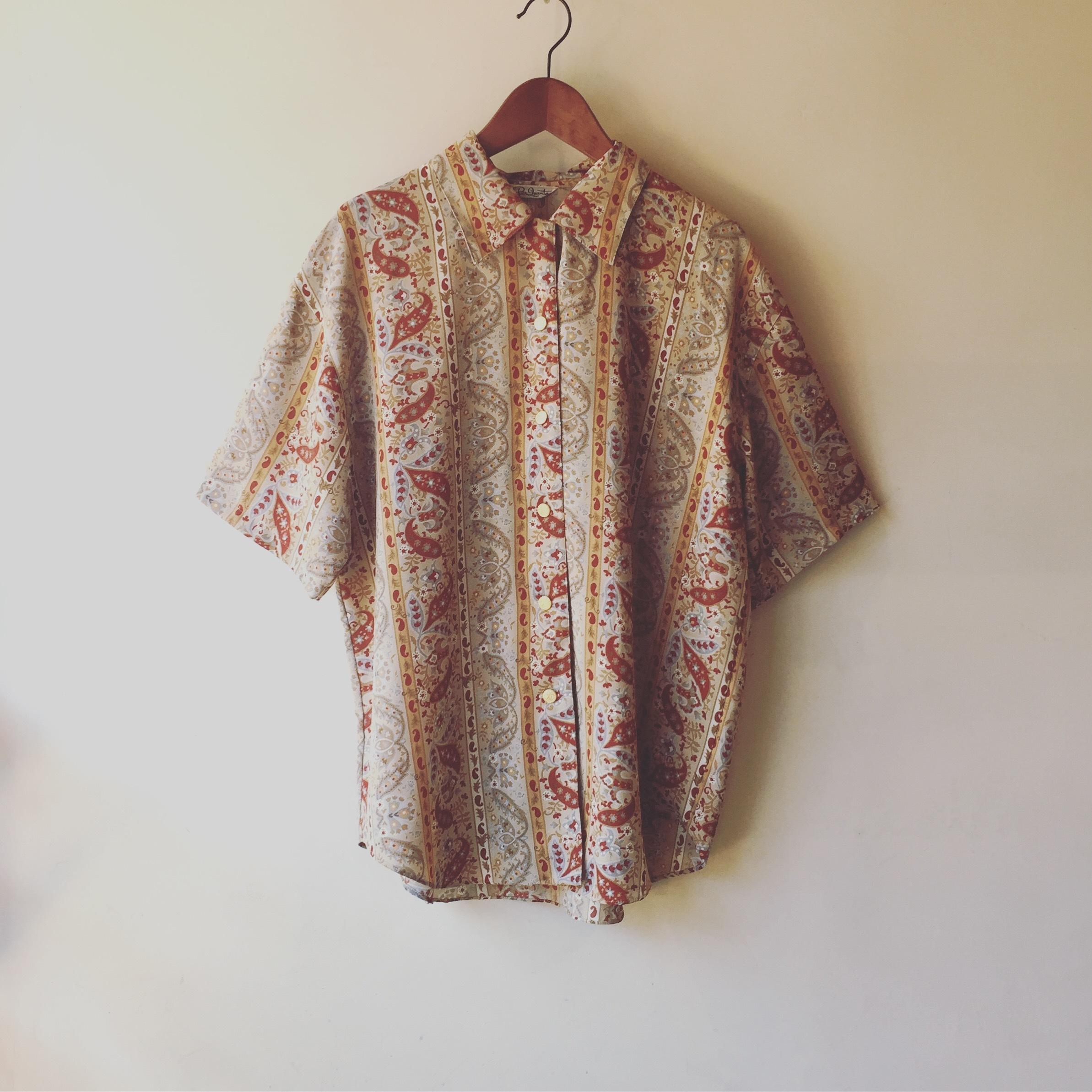 vintage paisley tops
