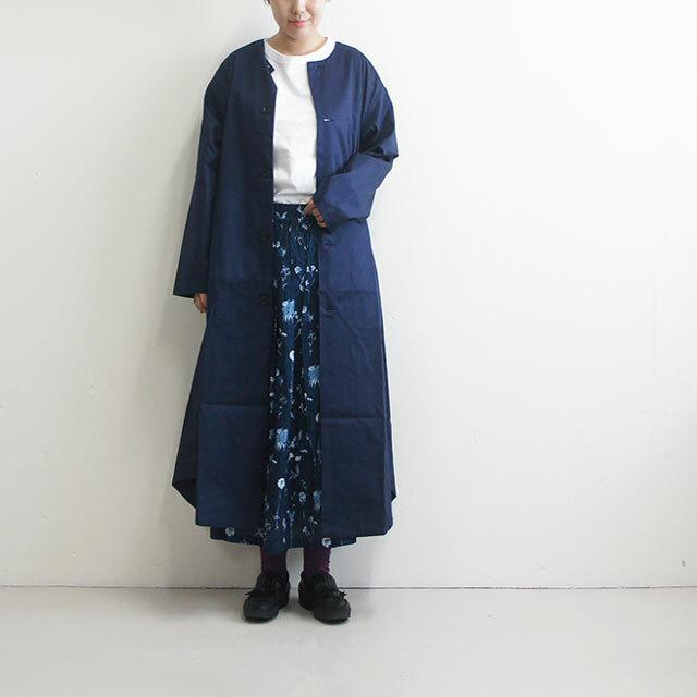 have a good day ハブアグッドデイ ノーカラーシャツコート no collar shirt coat 【返品交換不可】 (品番hgd-108)
