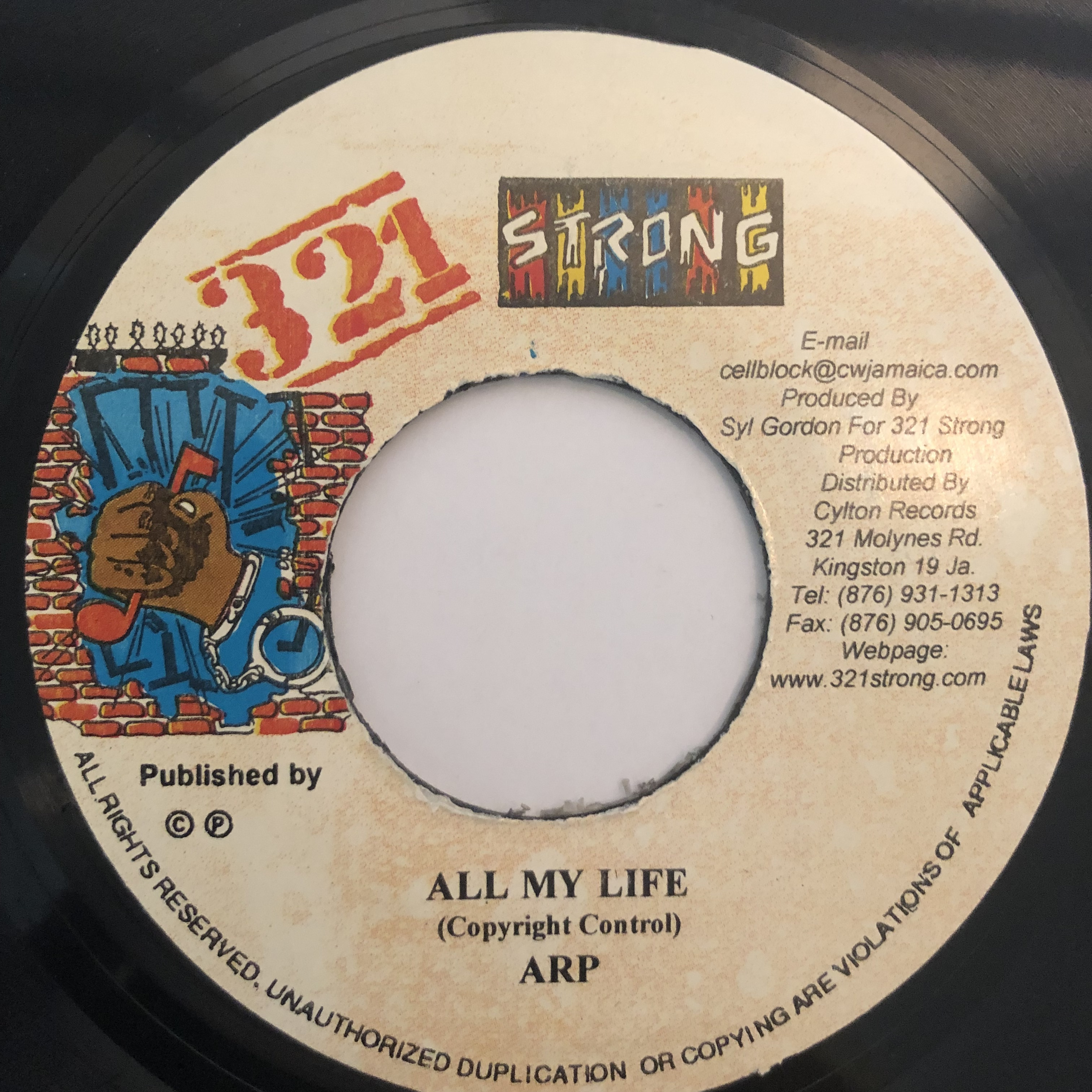 ARP - All My Life【7-20263】