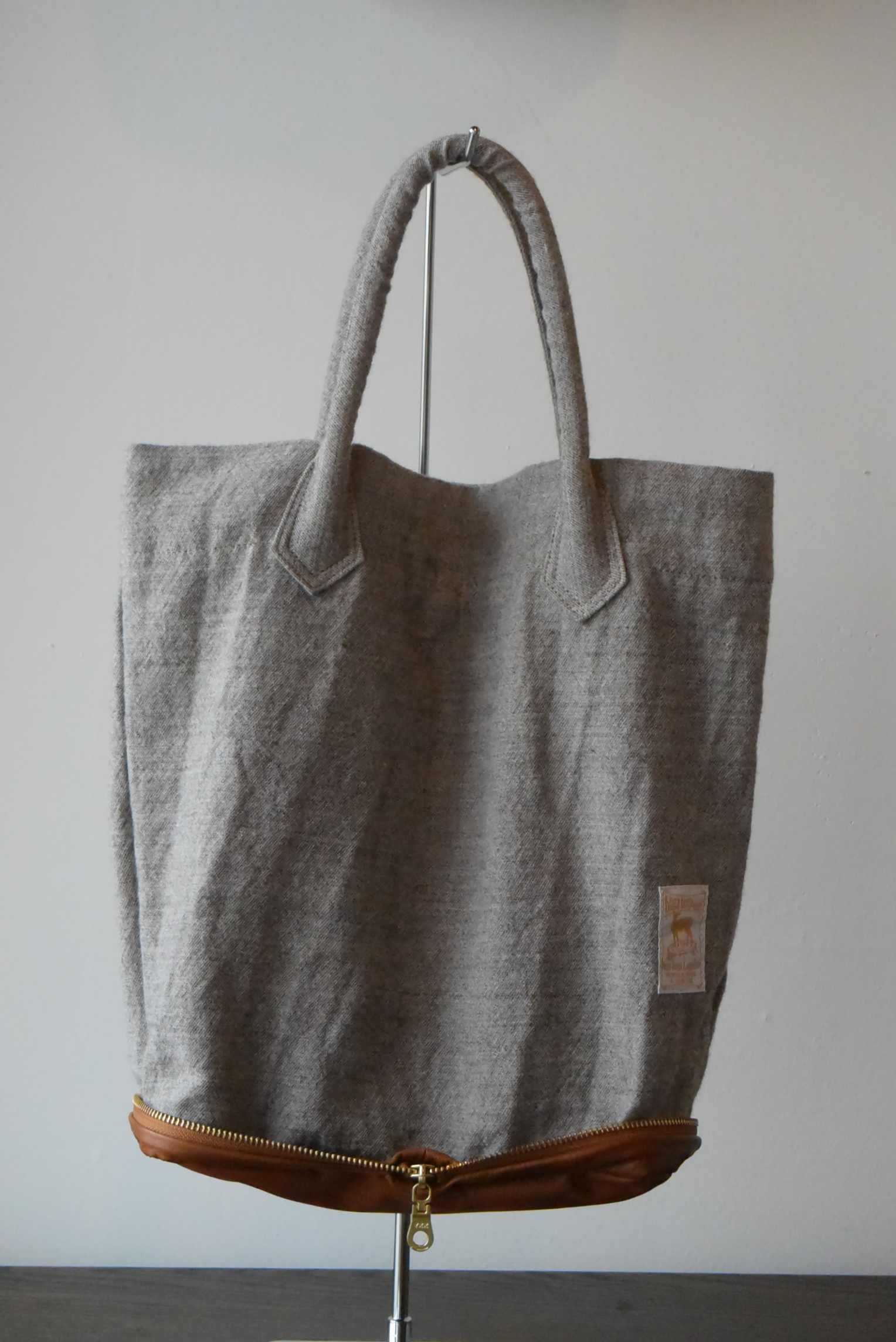 "boga boga loopline Potentiality packable ""VERTICAL TOTE"""