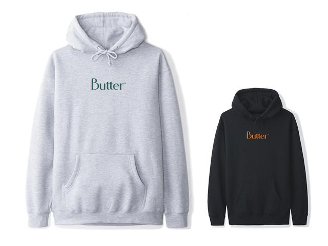 BUTTERGOODS|Speckle Classic Logo Pullover Hood