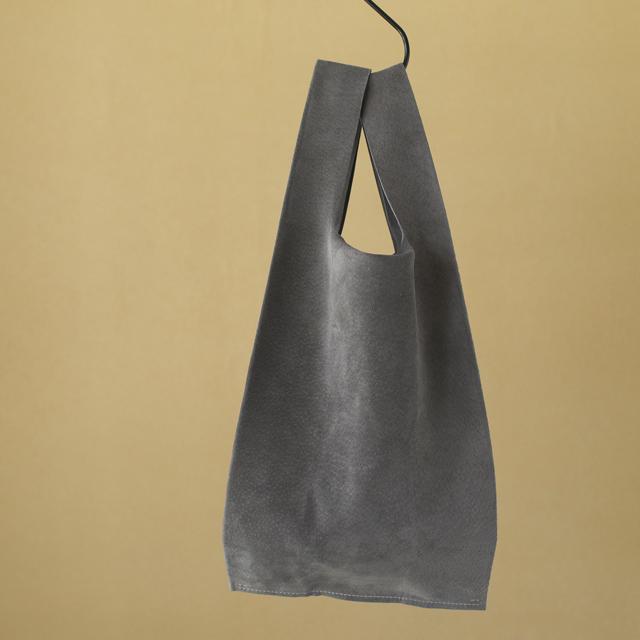 Teha'amana テハマナ Pig suede shopping bag グレイ