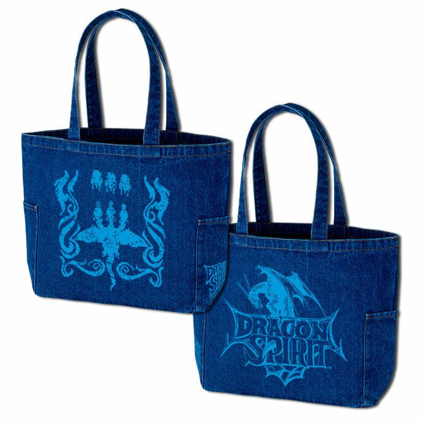 ドラゴンスピリット デニムトートバッグ 「Tri-Heads Denim Totebag」 / GAMES GLORIOUS