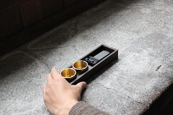 旅する仏壇:黒檀(位牌・おりん・香炉)