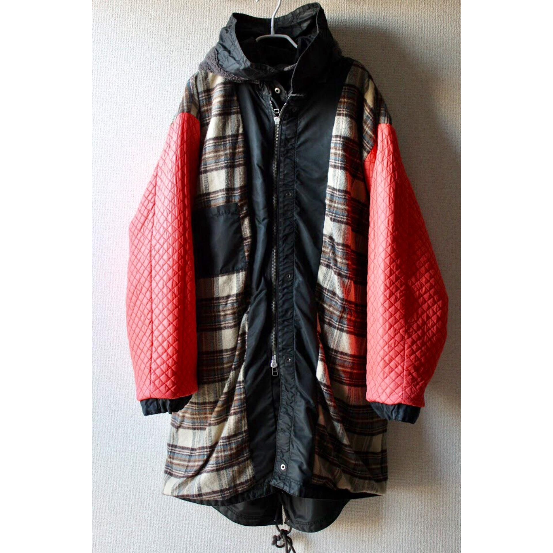 Vintage M-65 type hooded coat