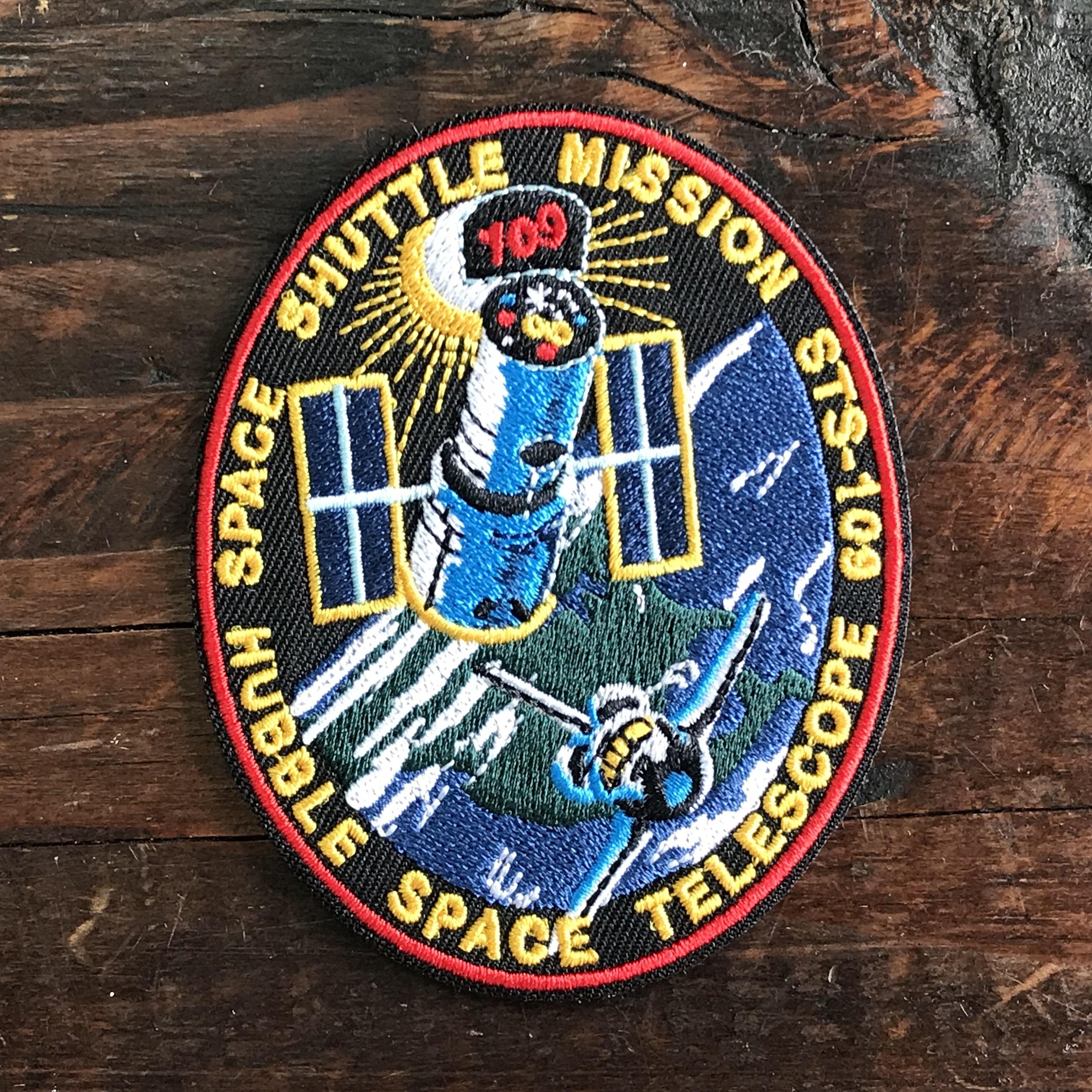 NASA公認(アメリカ航空宇宙局)ワッペン・アップリケ・スペースシャトルミッション・STS-109