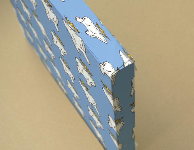 Crown キャンバスプリント(B3サイズ・木製パネル貼り)