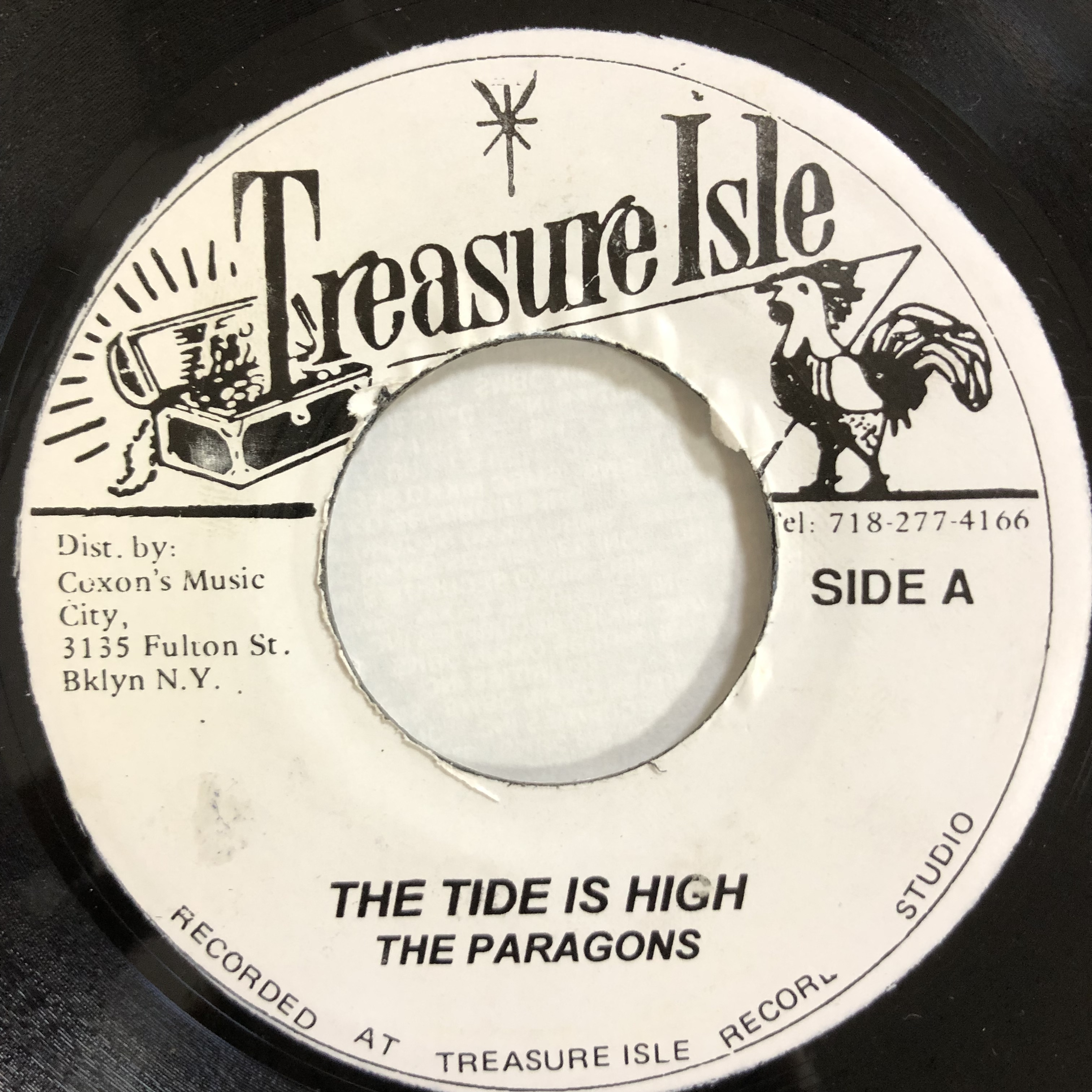 The Paragons(パラゴンズ) ‎- The Tide Is High【7-20158】