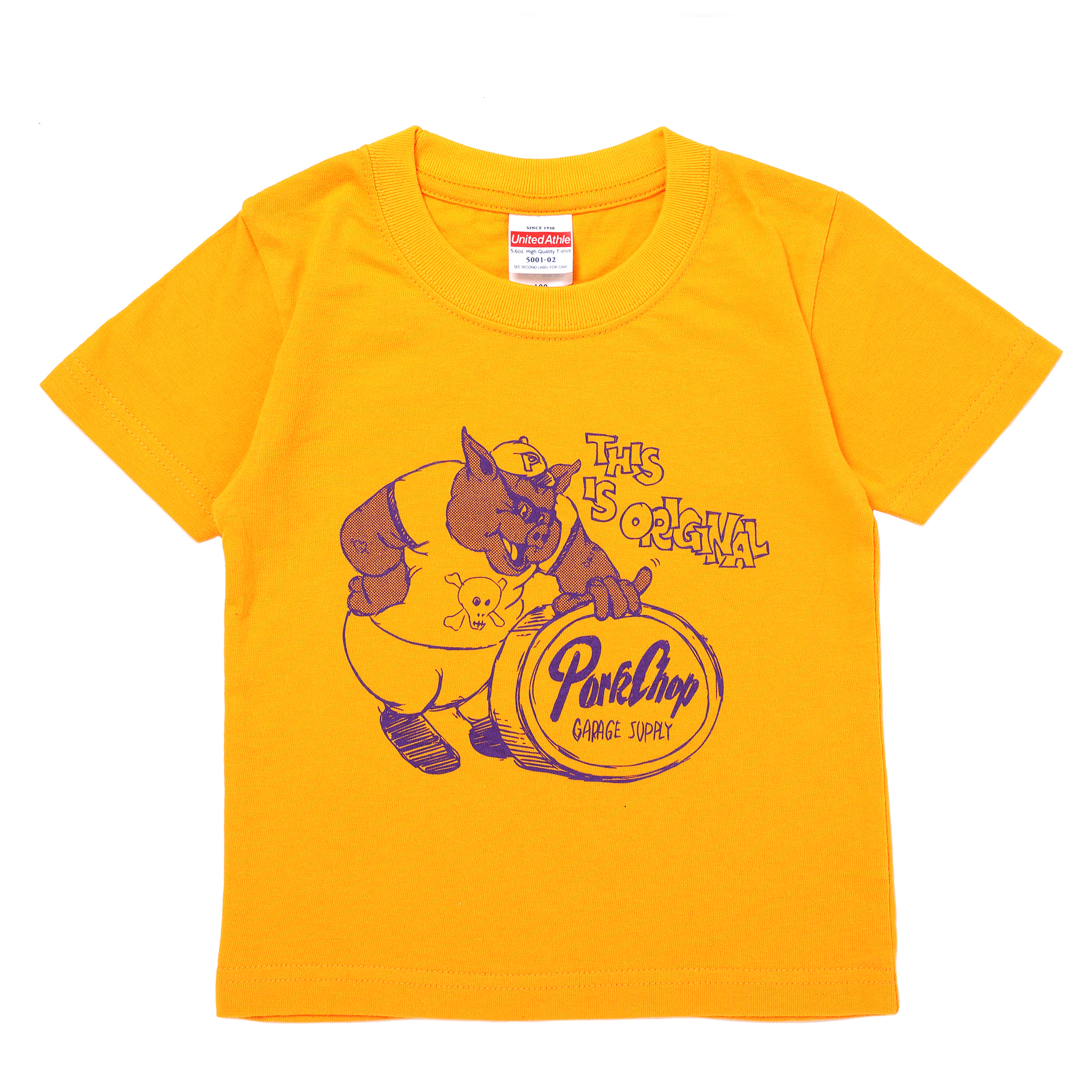 THIS IS ORIGINAL TEE for kids/GOLD