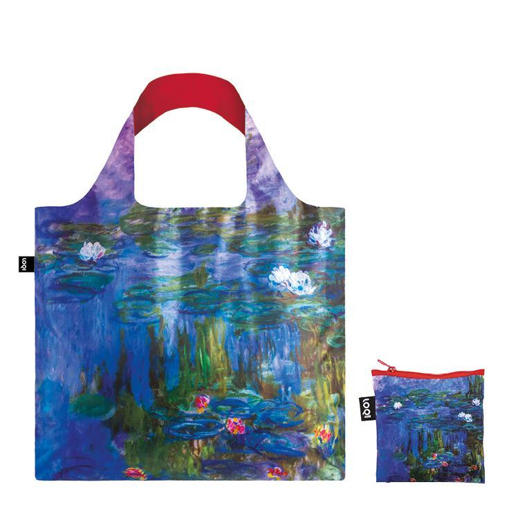 LOQI エコバック CLAUDE MONET Water Lilies, 1913 Bag