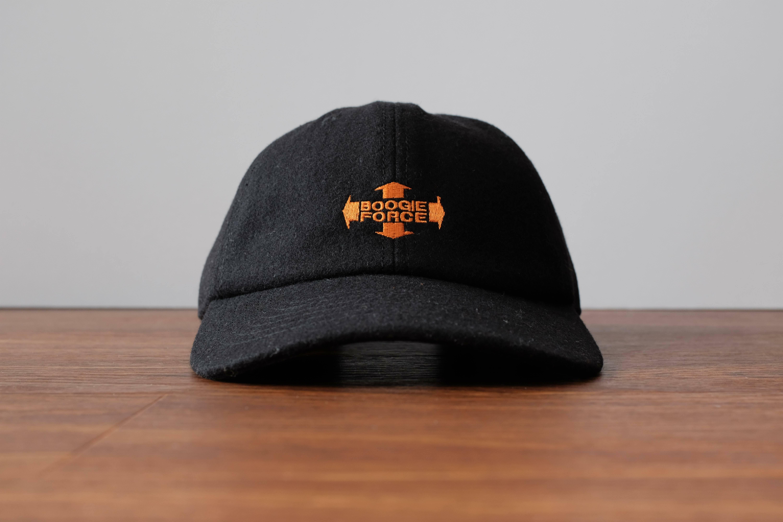 """SBW """"BOOGIE FORCE"""" Wool cap[Black]"""