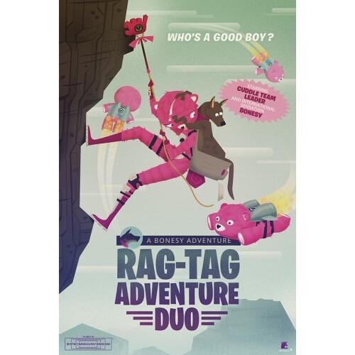 『フォートナイト』ポスター  (5)  RAG-TAG ADVENTURE DUO   / エンスカイ